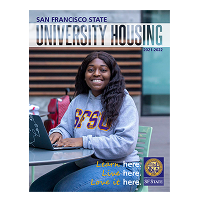 Cover of the housing brochure