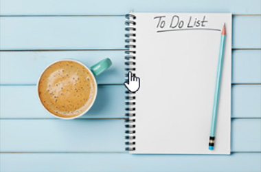 Notepad with To-do List