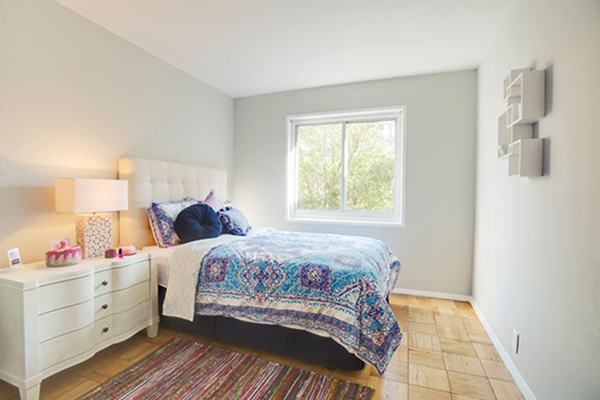 ParkMerced Townhome bedroom